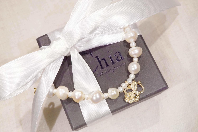 Chia Jewelry珠寶飾品輕珠寶品牌|訂製姓名首飾|手鏈串飾訂製|10k金珍珠手鍊|好友禮物