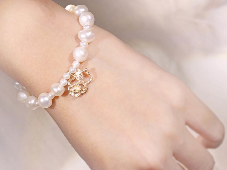 Chia Jewelry訂製首飾珠寶品牌|k金手鍊|珍珠手鍊訂製|10k金輕珠寶|姓名首飾訂製