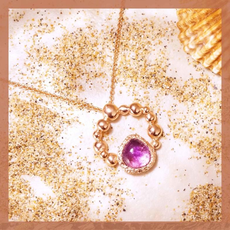 訂製分享-紫水晶墜子