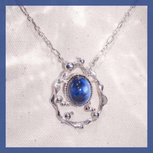 訂製分享-珠寶改造-海浪銀墜子