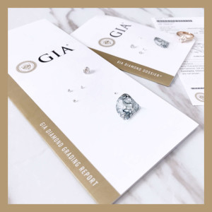 如何購買鑽石? - 關於GIA評鑑證書