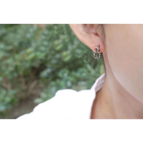 小花園系列-天使花銀耳環